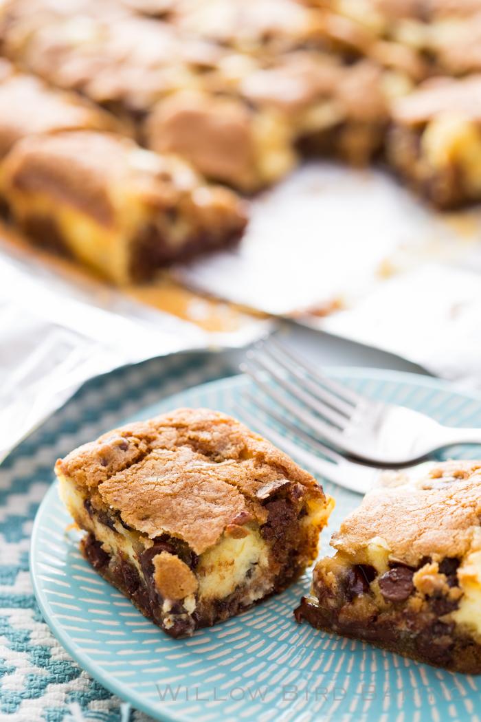 Cheesecake Chocolate Chip Cookie Bars   Recipe   Quick ...