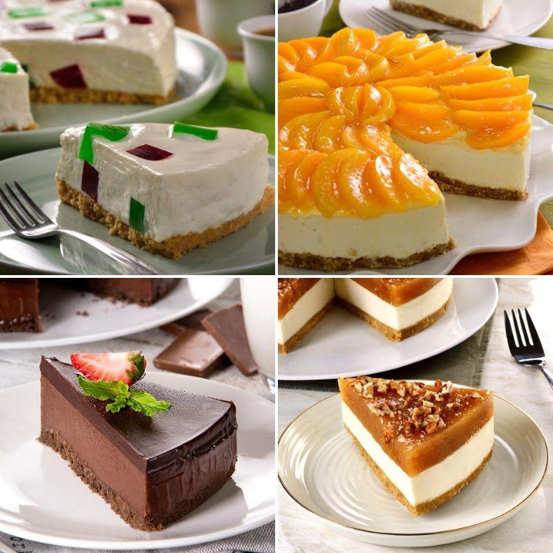 4 Cheesecakes Fáciles Sin Horno Cheesecakes Cheesecake Recetas Cheesecake Sin Horno