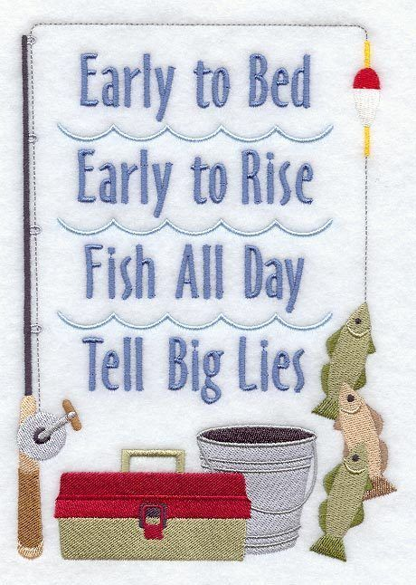 Embroidered fisherman creed sampler quilt block, fabric,cushion ... : cushion panels to quilt - Adamdwight.com