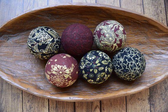 Decorative Balls For Bowl Renaissance Decorative Fabric Rag Balls Fabric Balls Rag Balls