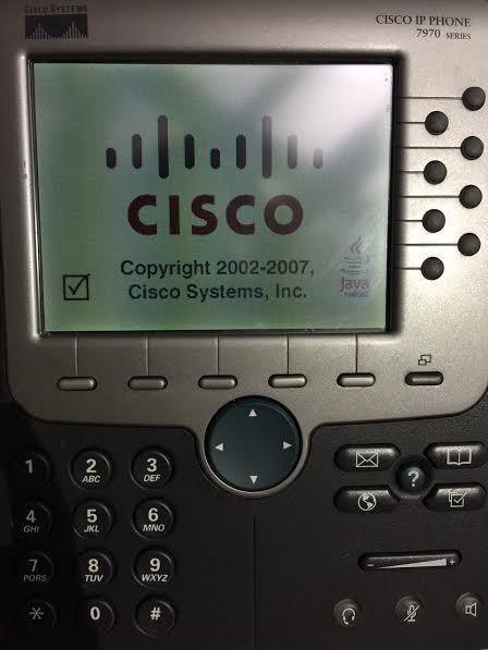 Cisco 7970G IP VoIP Phone Telephone (CP-7970G) #Cisco