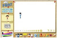 Color Draw Paint Abcya Paint Is An Online Paint Color And Drawing Activity For Children Fun Tools And Accesso Drawing Activities Painting Digital Painting