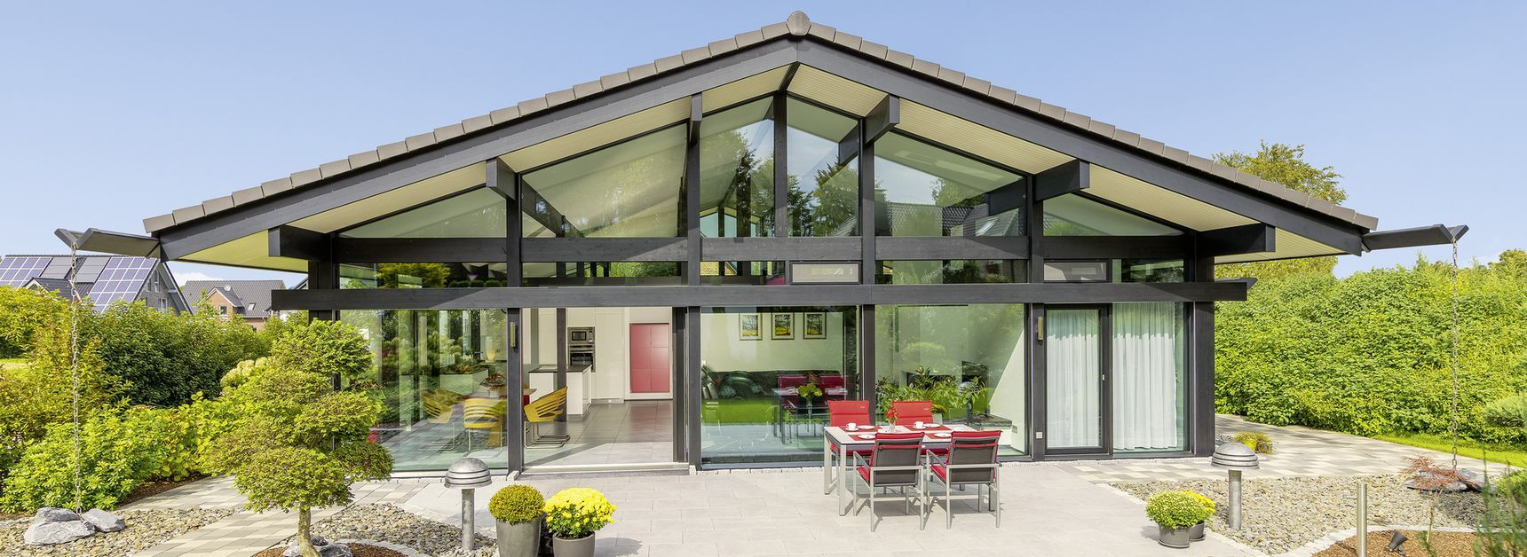 Fertighaus bungalow holz  HUF Haus Bungalow - Modernes Fertighaus aus Holz und Glas - HUF ...