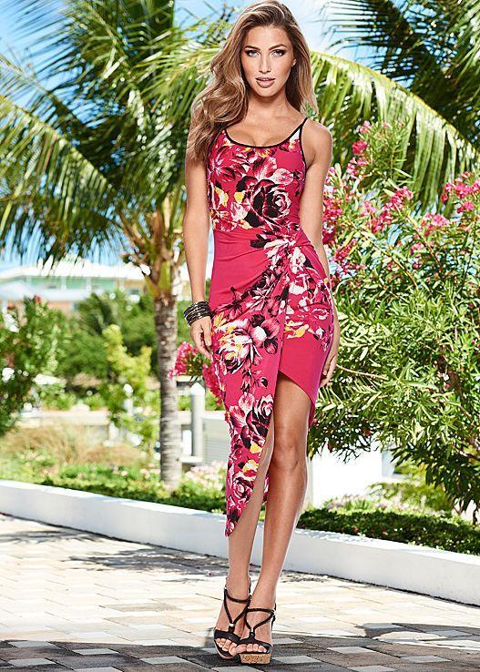 10903dc9be Floral favorites! The dress speaks for itself. Venus floral printed ...