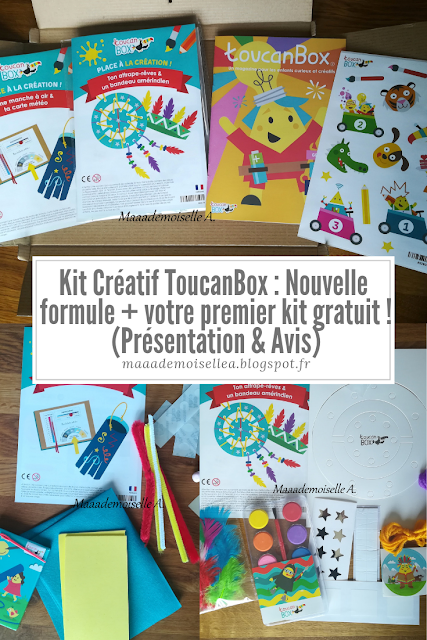 Kit Créatif Toucanbox Nouvelle Formule Votre Premier Kit Gratuit