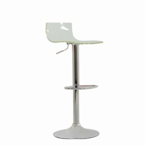 Brilliant Crystal Clear Breakfast Bar Stool Kitchen Furniture Evergreenethics Interior Chair Design Evergreenethicsorg
