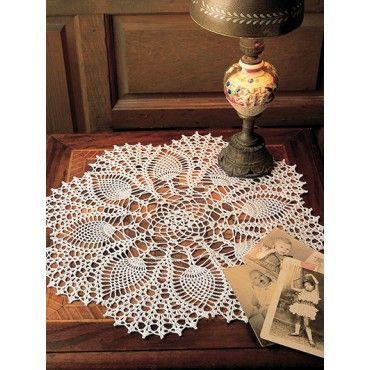 13 Doily A Bakers Dozen Easy Crochet Doilies Colorful Thread