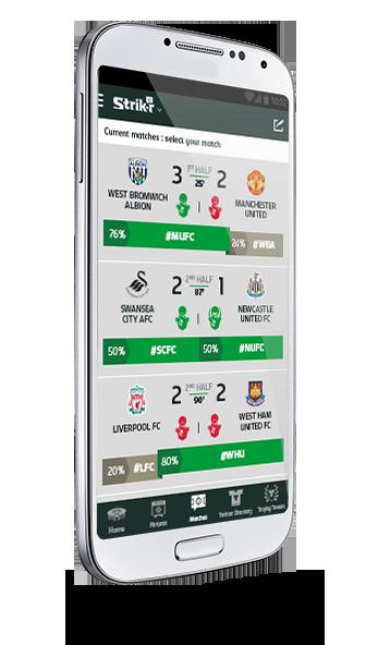 Carlsberg's Barclays Premier League App | Interfaces