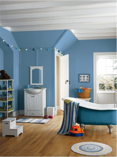 Blue cruise sw 7606 perfect paint color for a little for Boys room blue paint