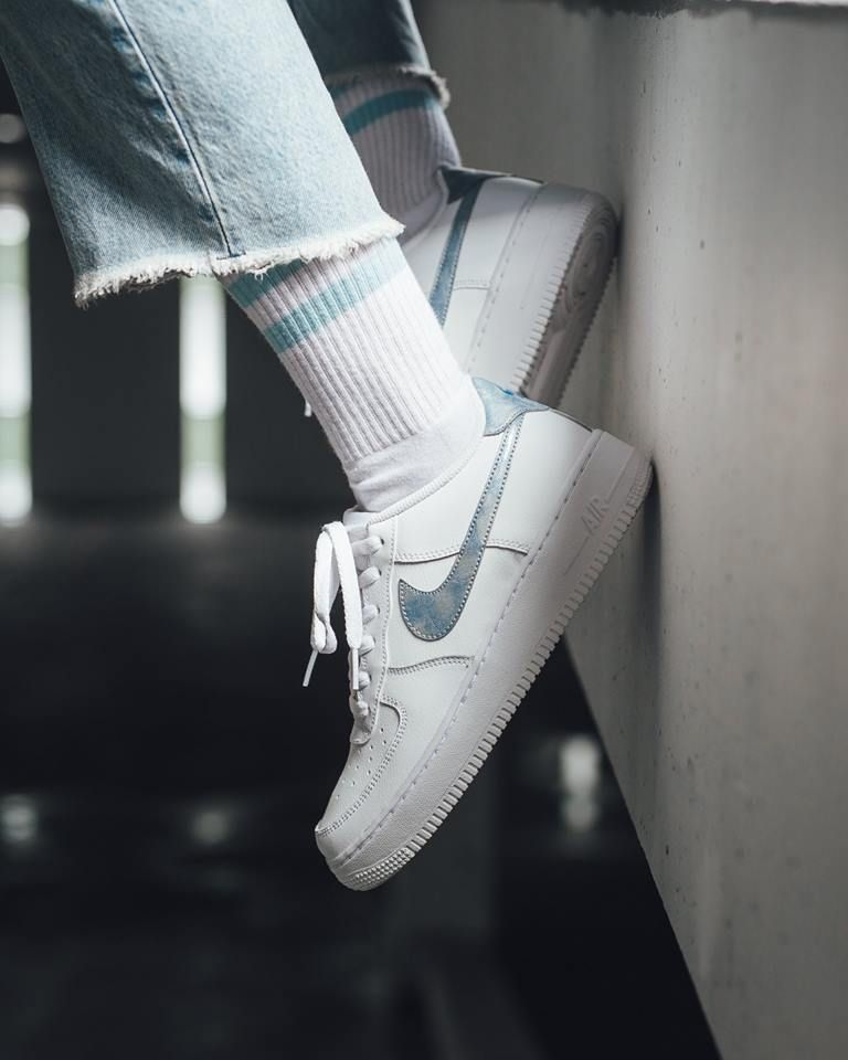 Nike Womens Air Force 1 Trainer | Pumice White