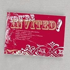 Largest collection of invitations and announcements for all occasions, and all can be totally personalized