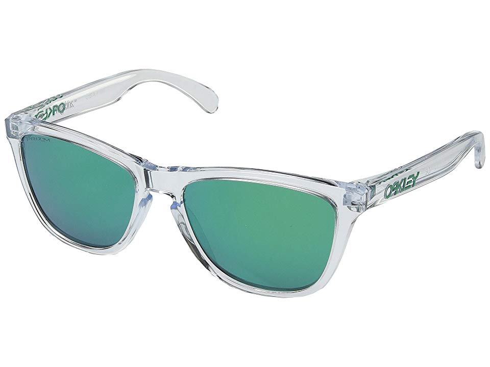 08f06a9cd1 Oakley Frogskins (Crystal Clear w  Prizm Jade) Sport Sunglasses. The  Frogskins from