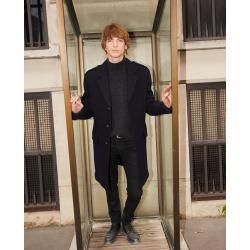 Photo of The Kooples – Straight fit wool coat with martingale belt – Damenthekooples.com