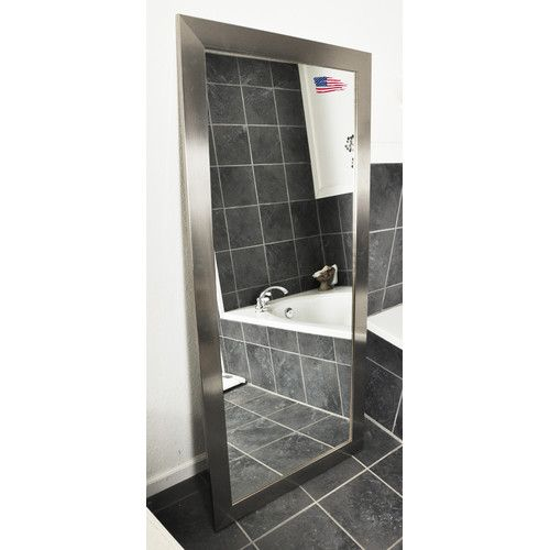 Found It At Joss Main Wide Full Length Body Mirror Tall Mirror Mirror Decor Silver Floor Mirror