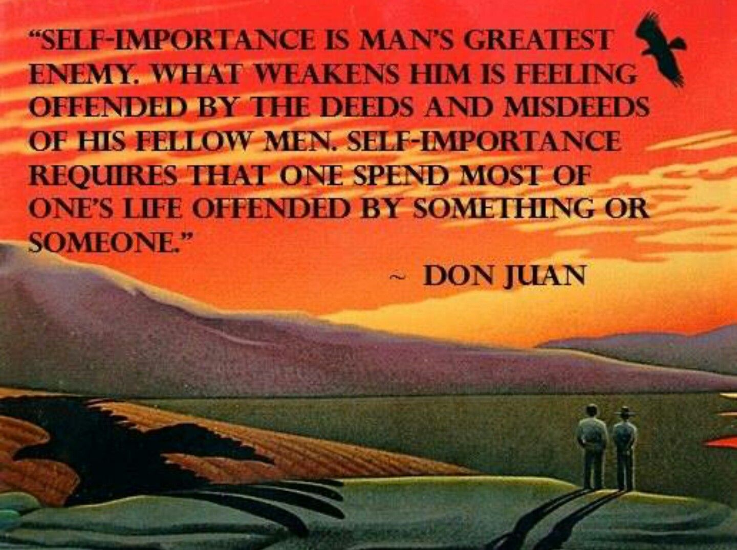Don Juan Carlos Castaneda Quotes Quotes The Deed