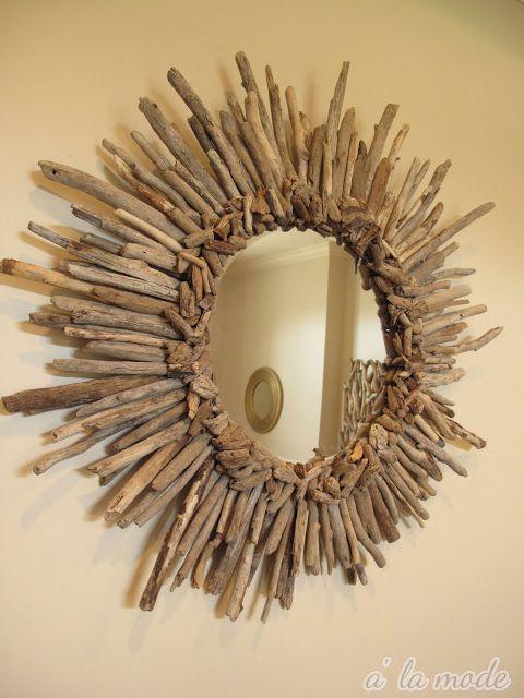 DIY Sunburst Mirror | diy sunburst mirror