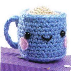 Amigurumi Coffee Cup - FREE Crochet Pattern / Tutorial