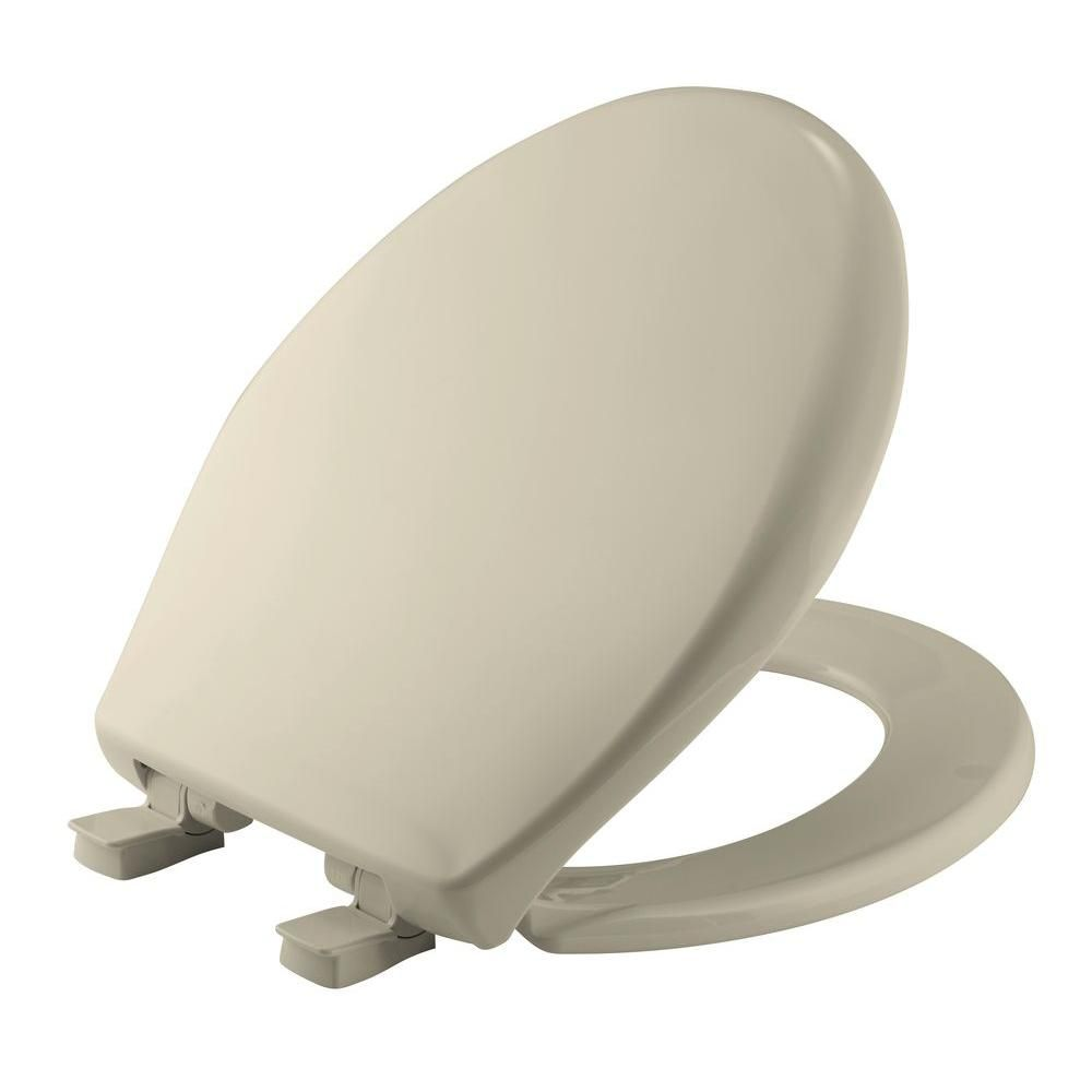 Affinity Round Closed Front Toilet Seat In Bone Ivory Products