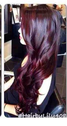 black cherry hair color - Hair Color Black Cherry