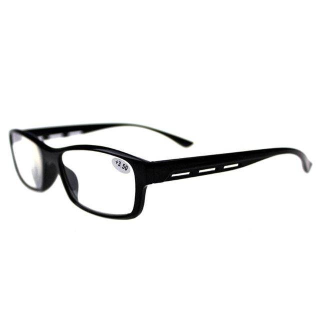 58ce044e642 Reading Glasses Men Women Unbreakable Frame Spectacles Presbyopia Magnifier  1.0 1.5 2.0 2.5 3.0 3.5 4.0 001 Review