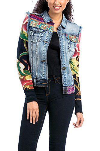 Veste en jean femme desigual