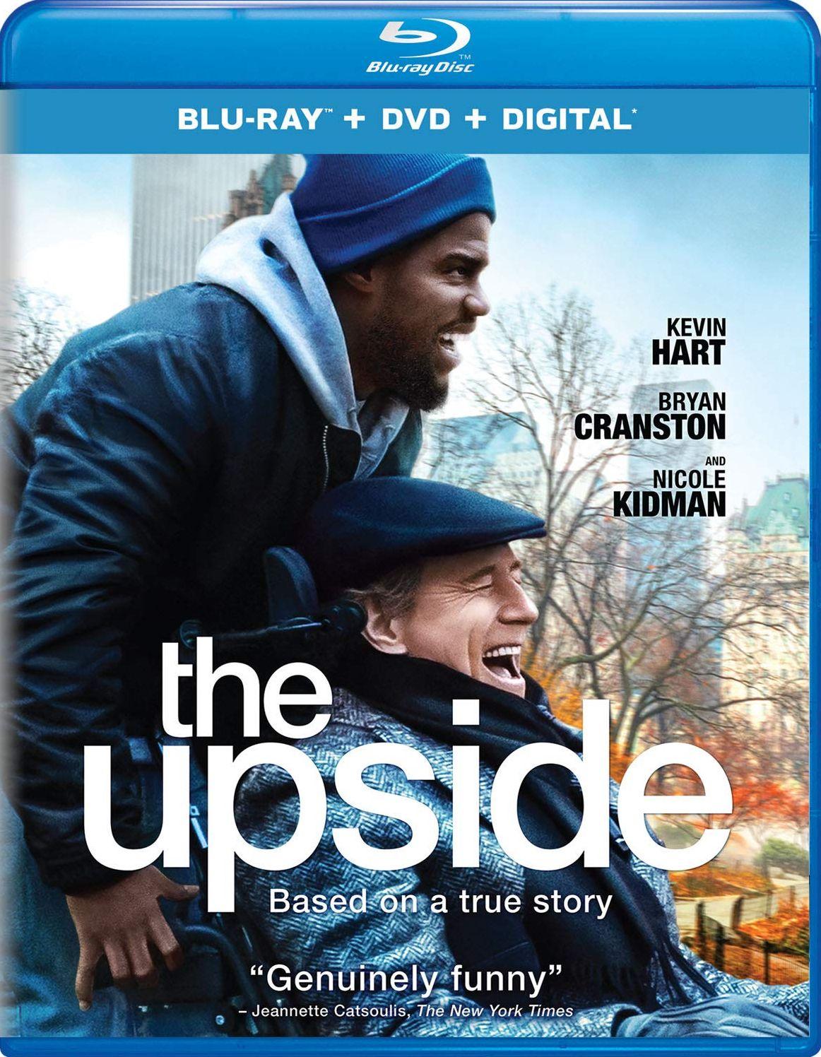 THE UPSIDE BLURAY (UNIVERSAL STUDIOS) The upside, Blu