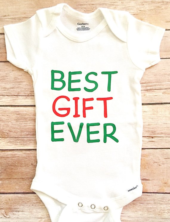435b56660 Boy Best Gift Ever Outfit, Best Gift Ever, Best Gift Ever Onesie, Christmas  Onesie, Baby Boy Christm