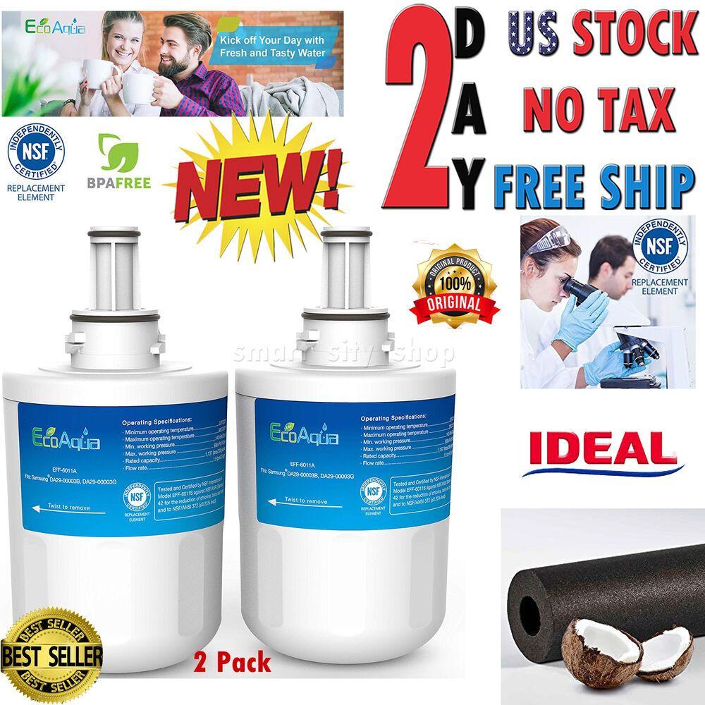 Refrigerator Water Filter Compatible w/ Samsung DA29 Aqua