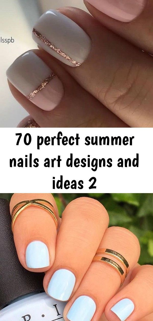 Photo of #Designs # for #ideas #perfect #summer nails #and 70 perfect …