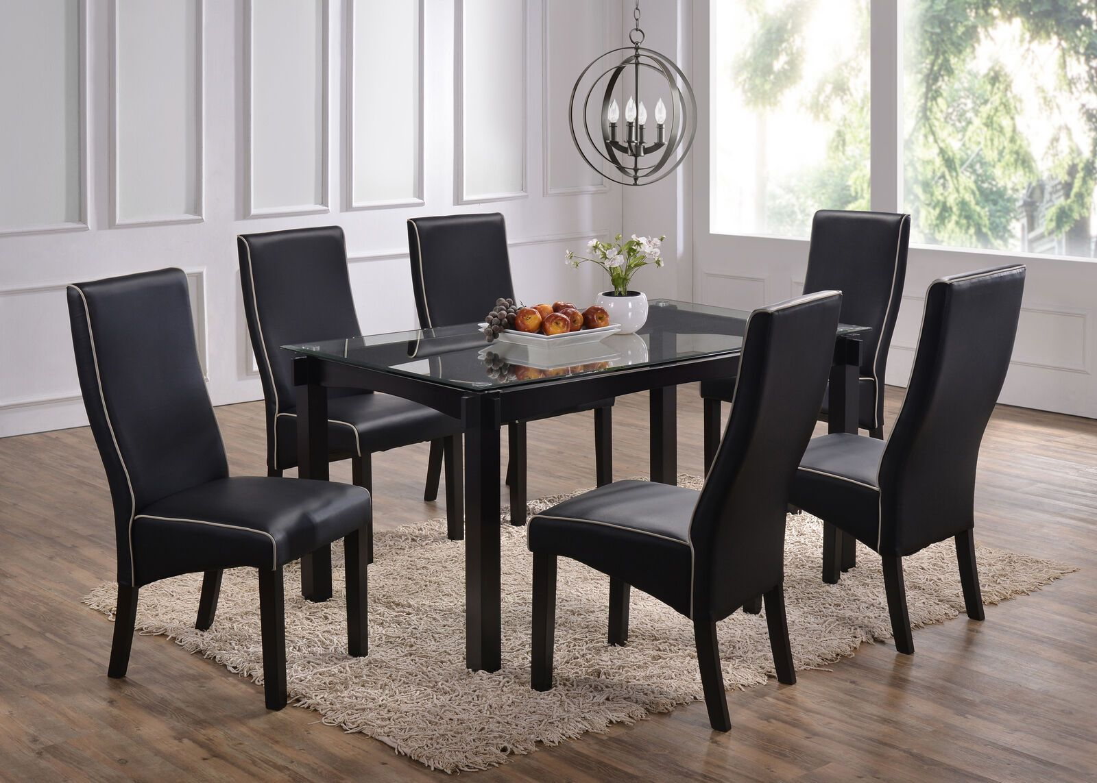 Kings Brand Furniture 7 Piece Dining