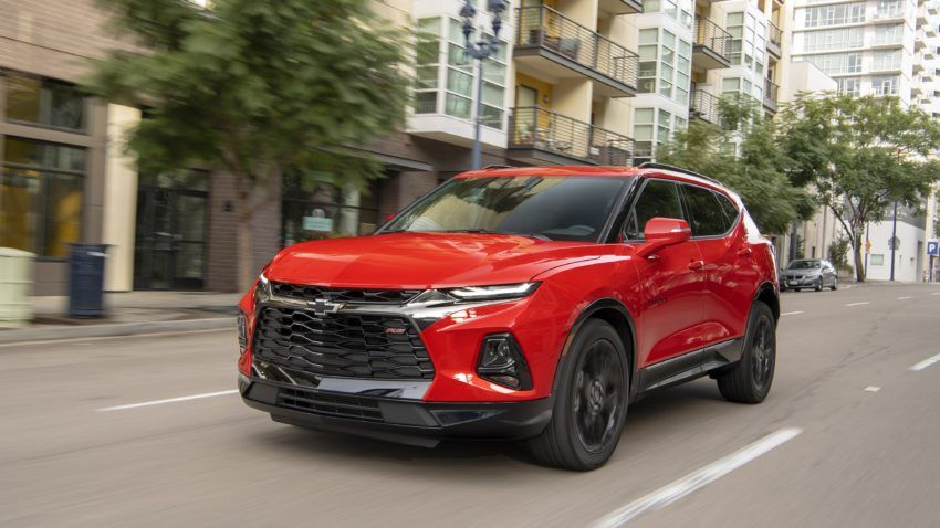 The All New 2019 Chevrolet Blazer Makes A Comeback Chevrolet Blazer Chevy Trailblazer Chevrolet