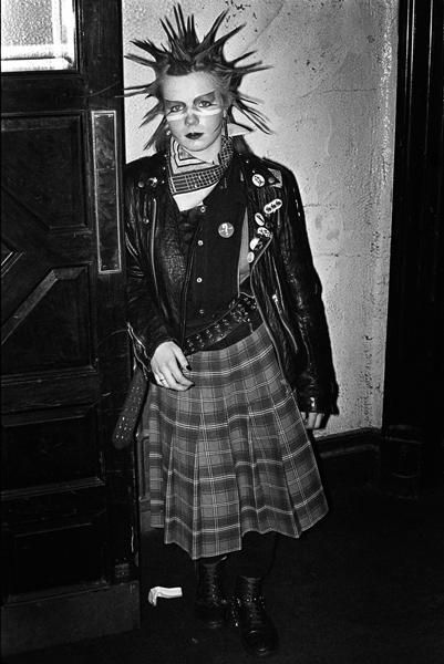 Venue in Victoria, London 1981. By Derek Ridgers.    punk ...