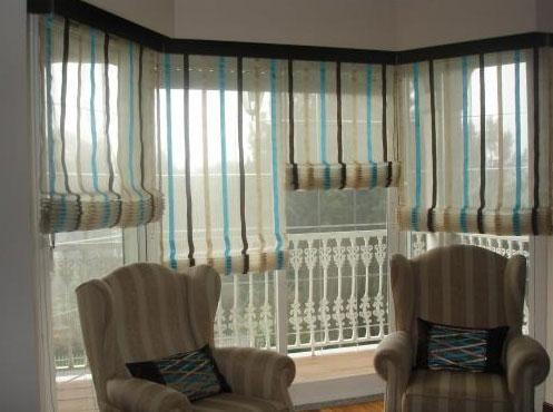 como hacer cortinas japonesas