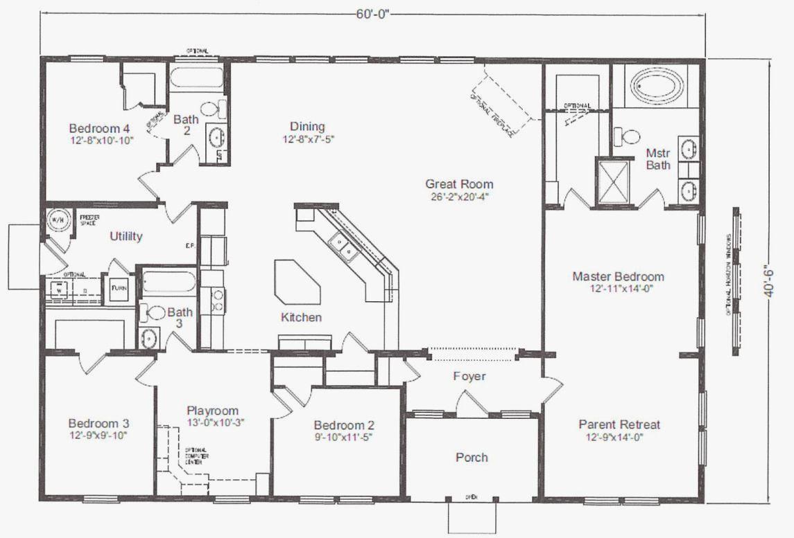 40 X 60 Barndominium Floor Plans Elegant 40 X 60 House Plans Escortsea Pole Barn House Plans Barndominium Floor Plans Metal Homes Floor Plans
