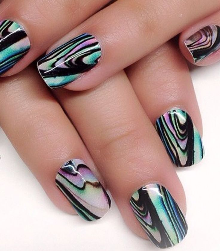 15 Cool Nail Art Designs: Super Cool Beautiful Nail Design