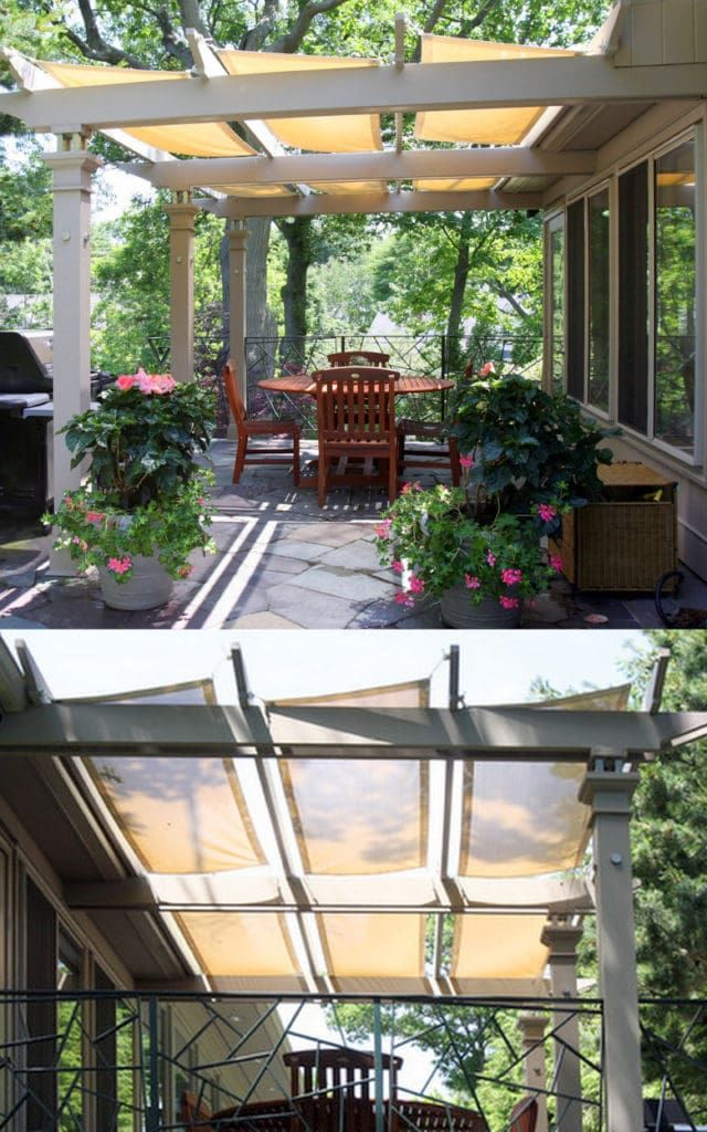 12 Beautiful Shade Structures & Patio Cover Ideas in 2020 ...