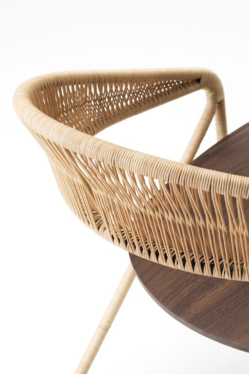 Silla con brazos GEORGE'S by Living Divani diseño David Lopez Quincoces