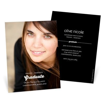 Graduation Announcements Invitations Perfect Photo 117ea72
