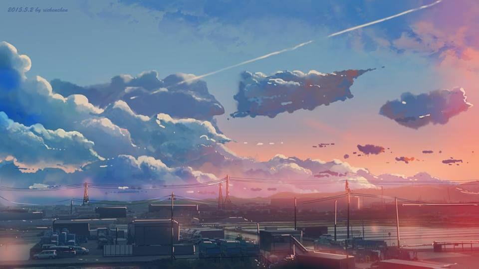 Beautiful Horizontal Artwork Desktop Wallpaper Art Cute Desktop Wallpaper Anime Scenery Wallpaper