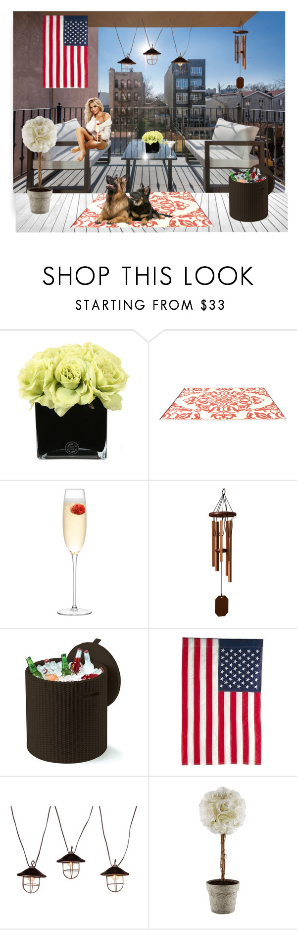 """""""Untitled #718"""" by lulalalala ❤ liked on Polyvore featuring interior, interiors, interior design, home, home decor, interior decorating, Hervé Gambs, LSA International, DutchCrafters and Keter"""