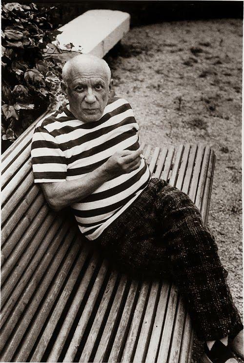 Bildresultat f r pablo picasso striped shirt vir very - Pintura instinto ...