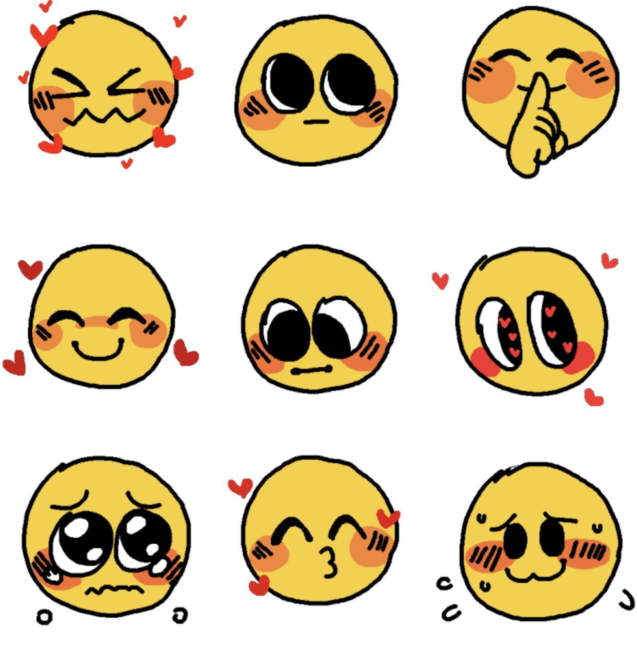 Pin By Hobishakes On Art Memes Drawing Expressions Emoji Art Drawing Face Expressions