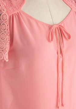 Pretty As Can Be Top, #ModCloth