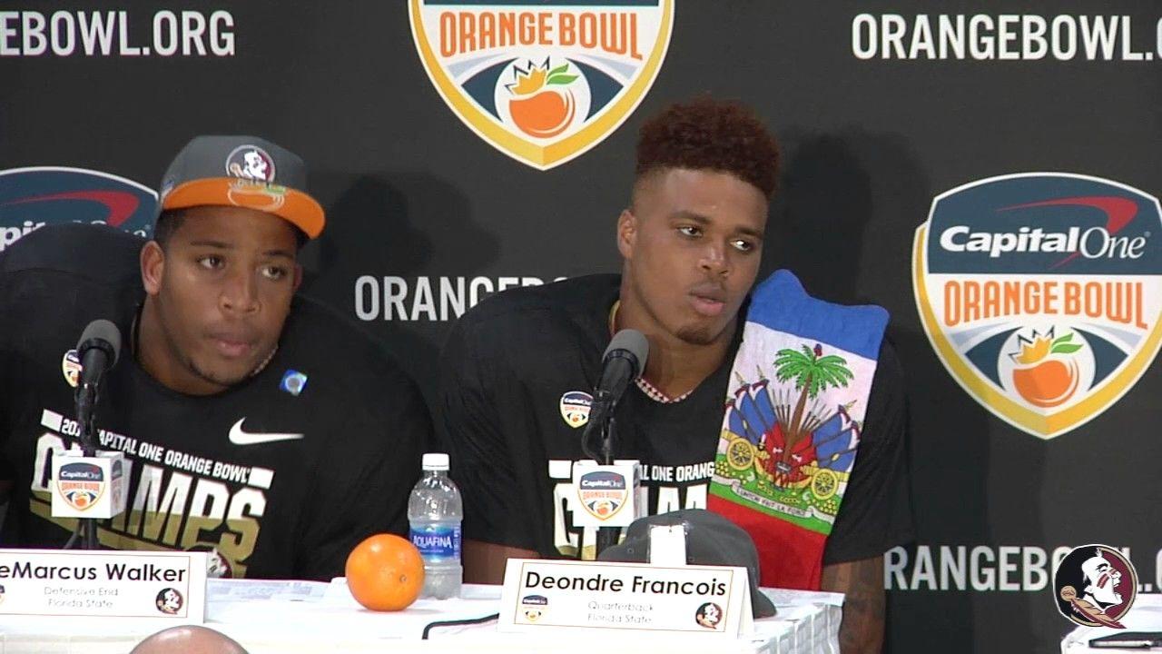 Players Orange Bowl Press Conference