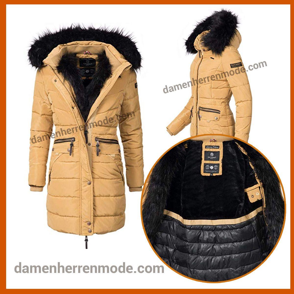 buy online ccad5 c5319 Navahoo Damen Winter Mantel ( vegan hergestellt ) 11 Farben ...
