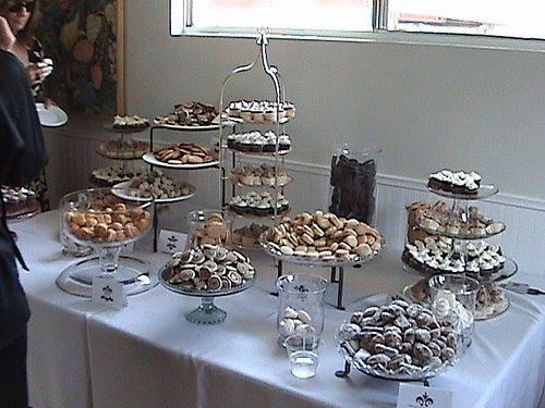 Budget Savvy Bride How To Get Married For Under 5k Project Wedding Cookie Buffet Diy Desserts Dessert Buffet