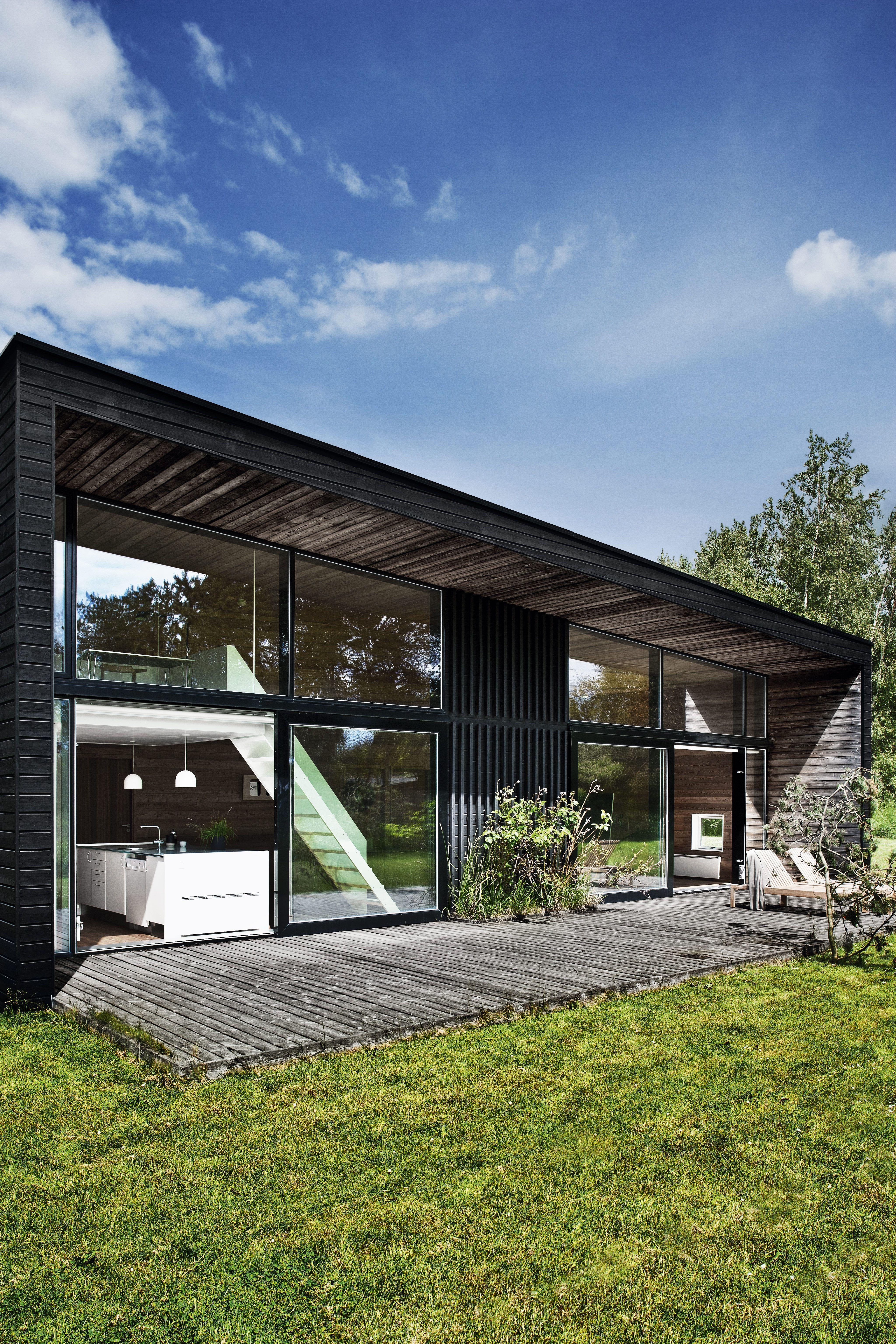 Kim holst jensens arkitekt / sommerhus, rågeleje nordsjælland ...