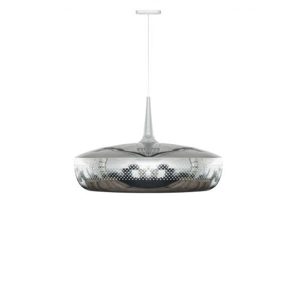 Vita Clava Dine Polished Steel With White Canopy | Memoky.com