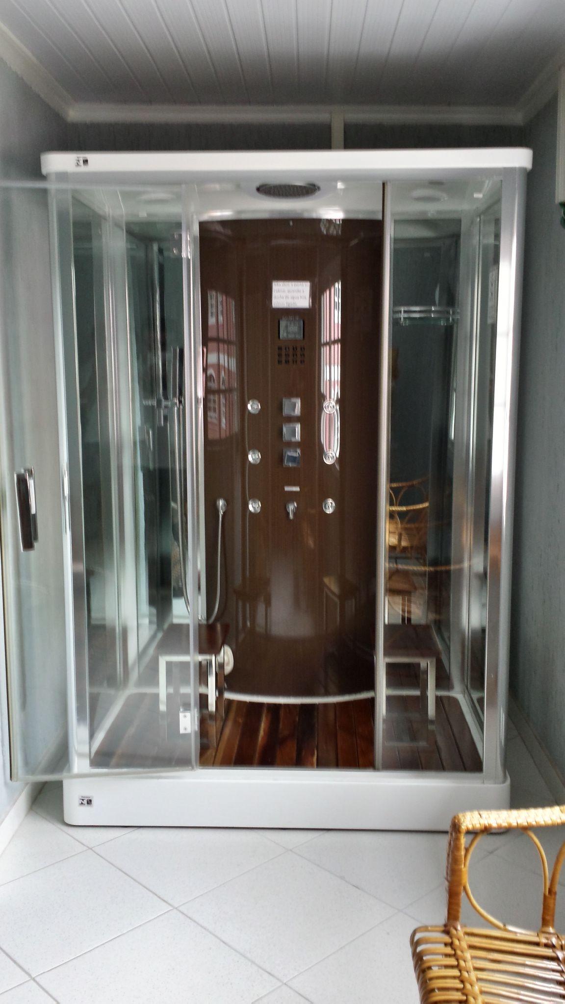 Cabine de Banho Multifuncional OSLO da Unique SPA (www.uniquespa.com.br)