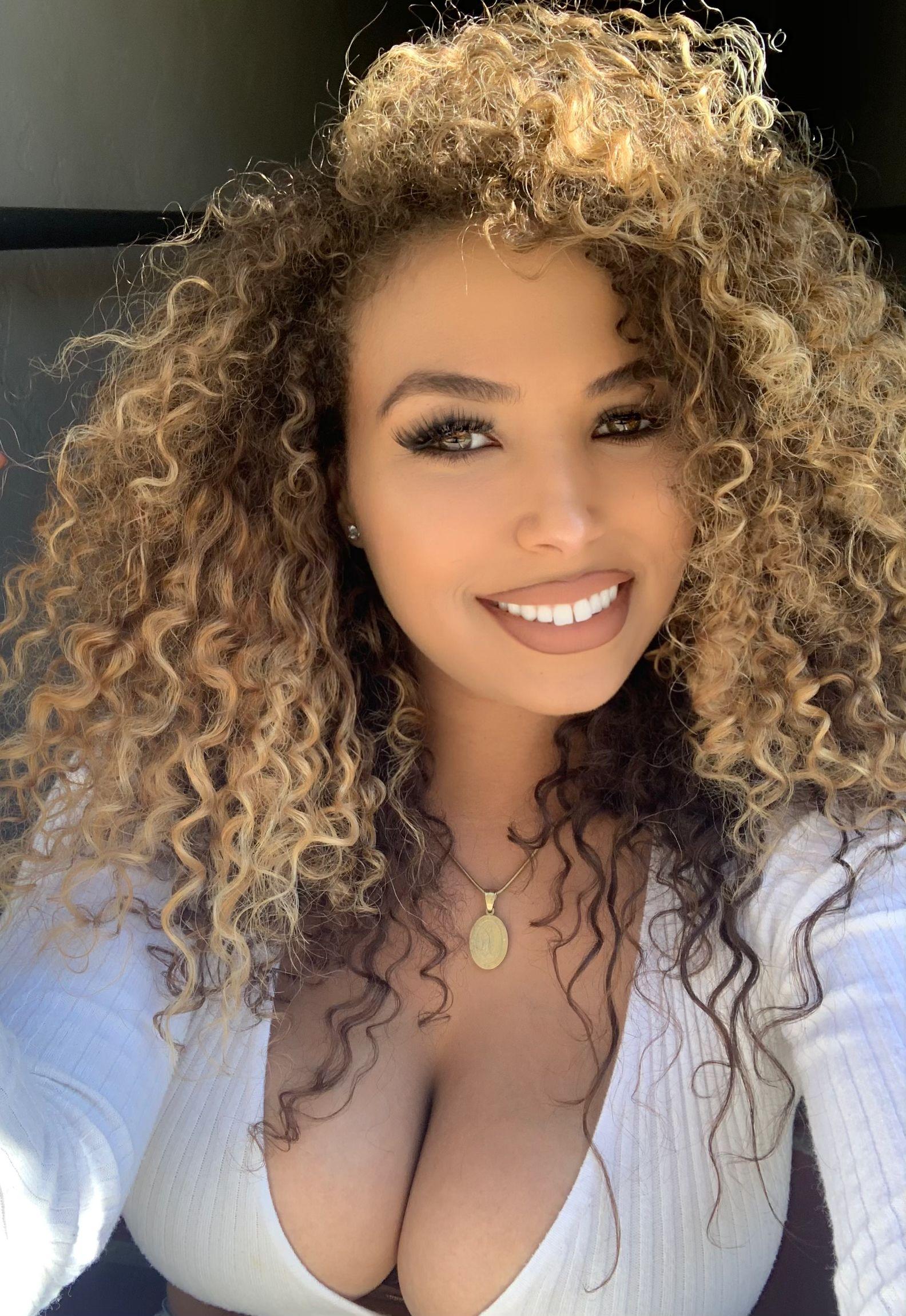 Balayage blonde curly hair blonde curly hair curly hair